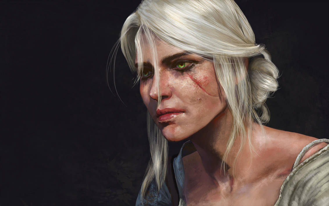 ciri__child_of_the__elder_blood_by_silvaticus_daffns8-pre.jpg - Witcher 3: Wild Hunt, the