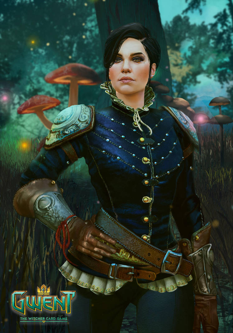syanna_gwent_card_by_silvaticus_dc8gelw-pre.jpg - Witcher 3: Wild Hunt, the