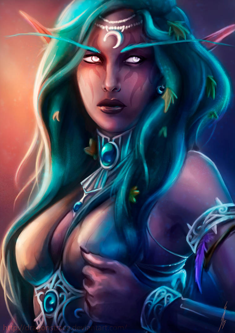 tyrande___world_of_warcraft_by_dragonstrace_d8hszv2-pre.jpg - World of Warcraft