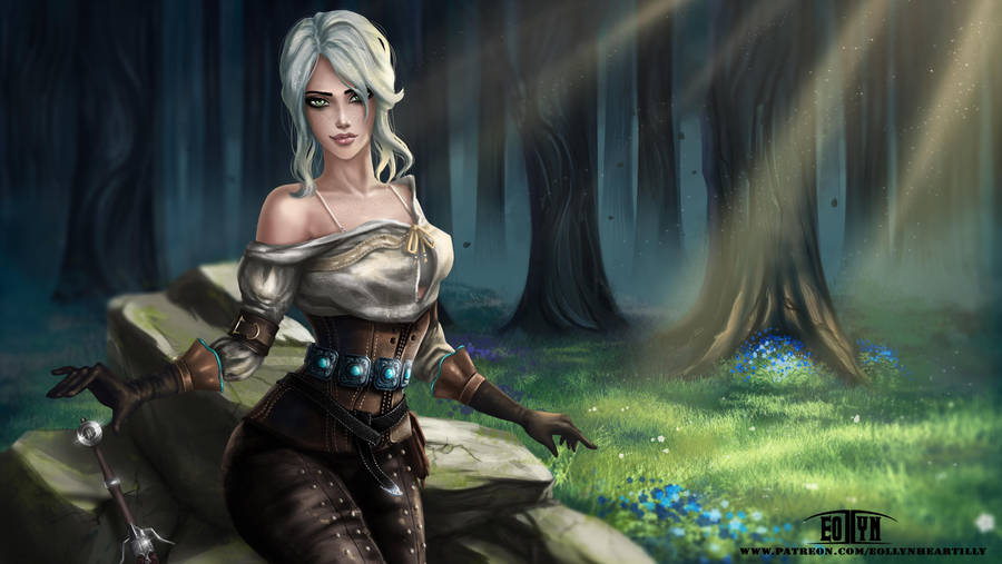the_witcher_iii___ciri__nsfw_optional__by_eollynart_dba0f1r-fullview.jpg - Witcher 3: Wild Hunt, the
