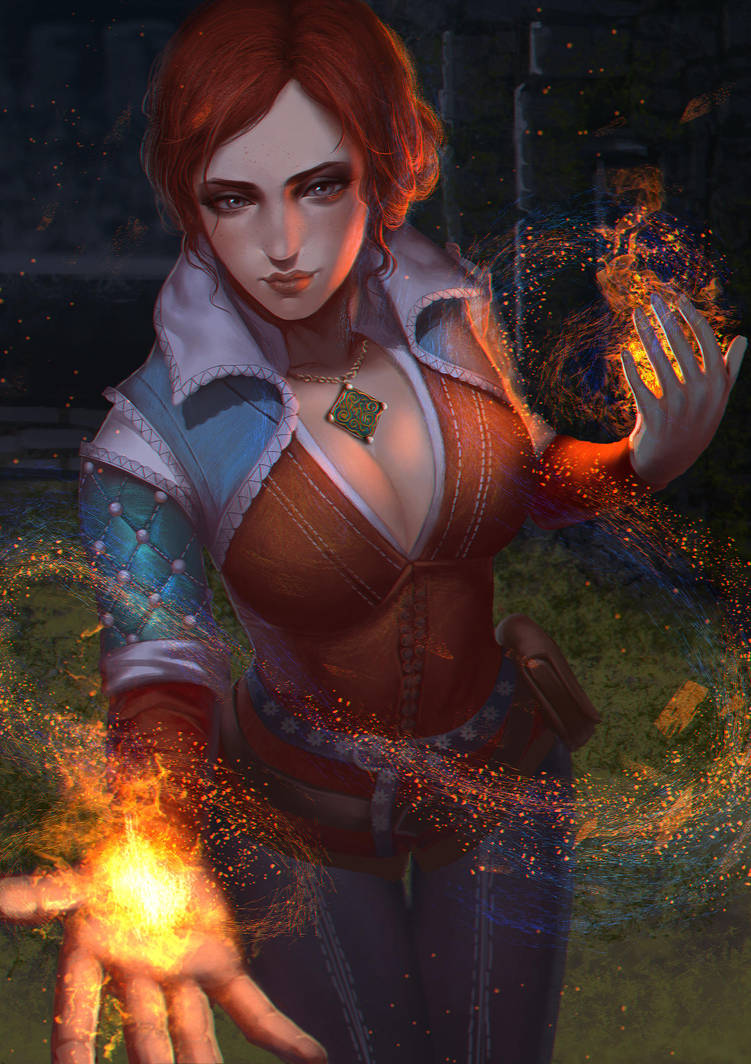 triss_by_crazyneko_reset_dbmimqj-pre.jpg - Witcher 3: Wild Hunt, the