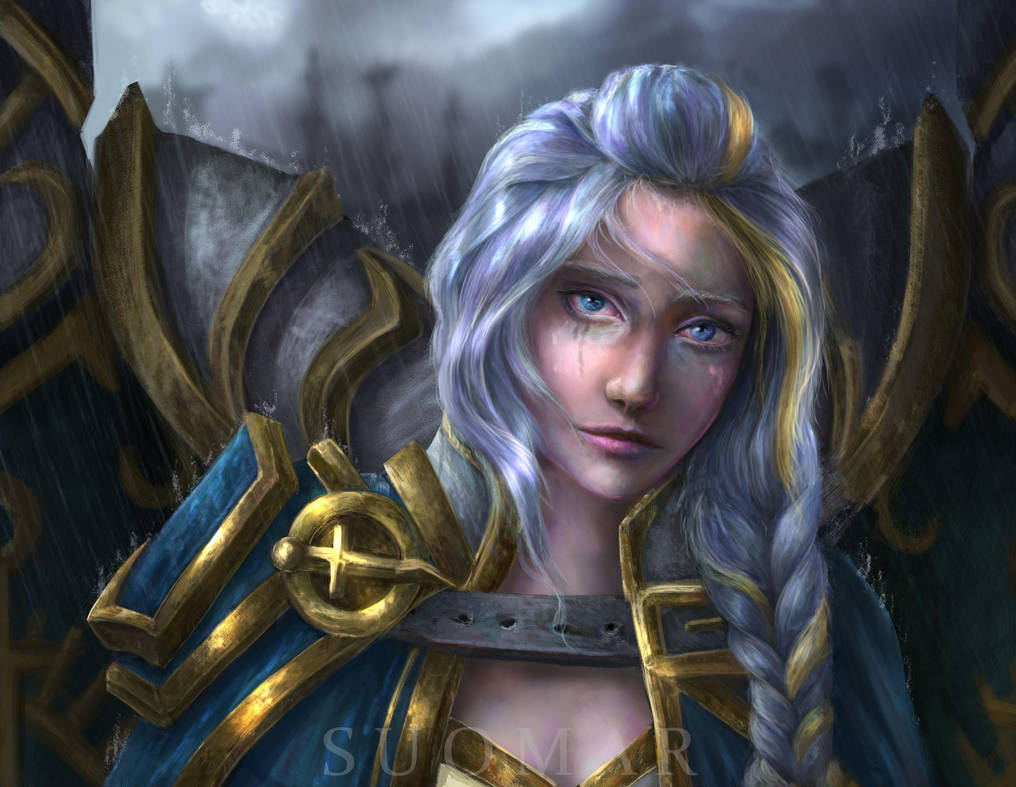 welcome_home__jaina_proudmoore_by_suomar_dcifs2f-pre.jpg - World of Warcraft
