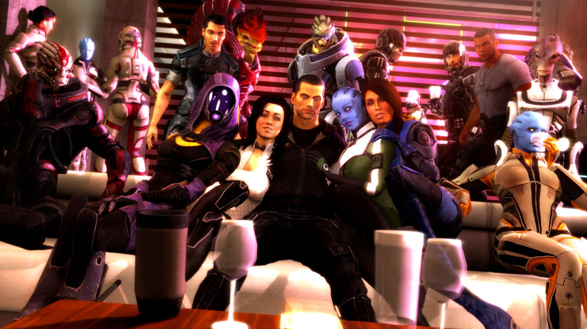 shepard_s_chill_party_by_lordhayabusa357_d9usffm-pre.jpg - Mass Effect 3