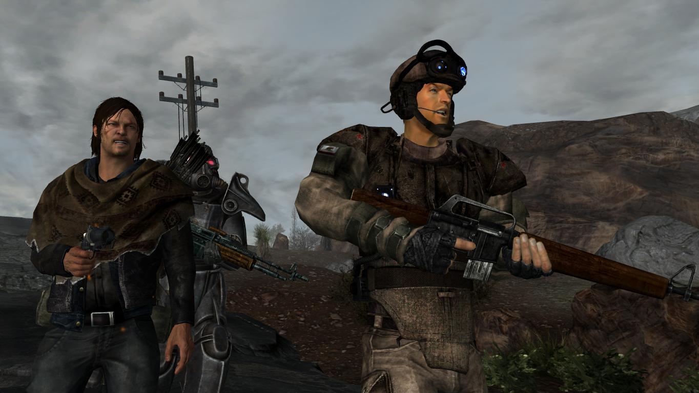 Зачистка карьера. - Fallout: New Vegas