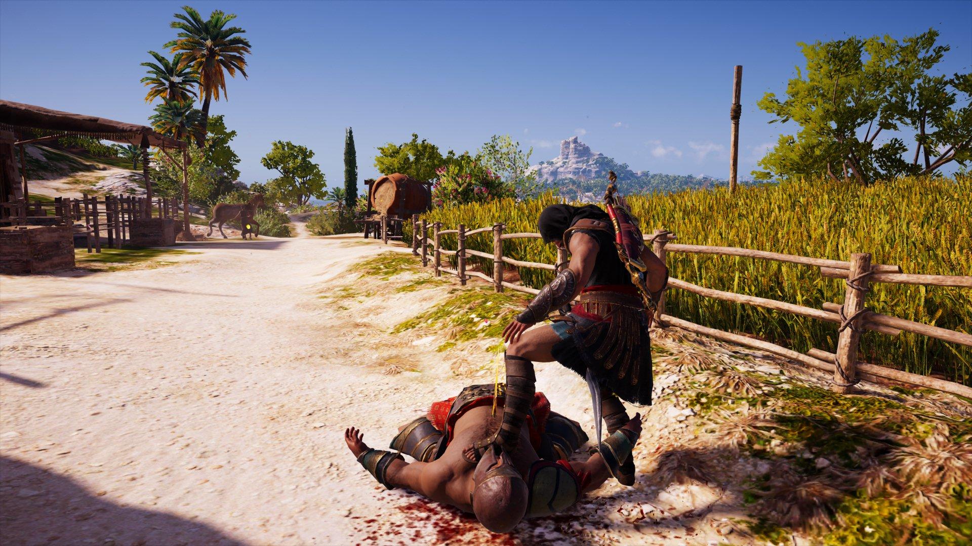 Спать уложил) - Assassin's Creed: Odyssey