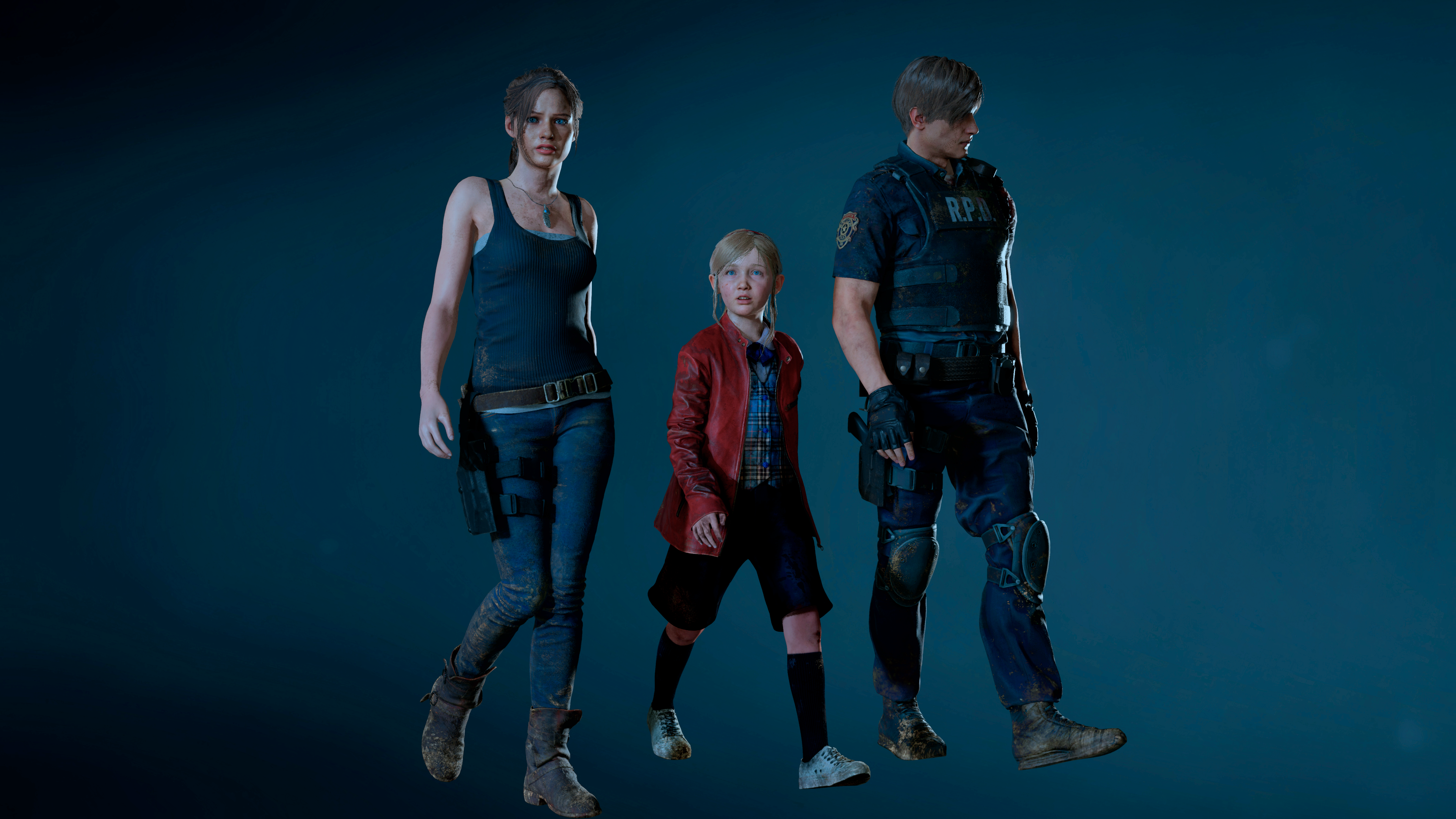 the ending or the beginning - Resident Evil 2