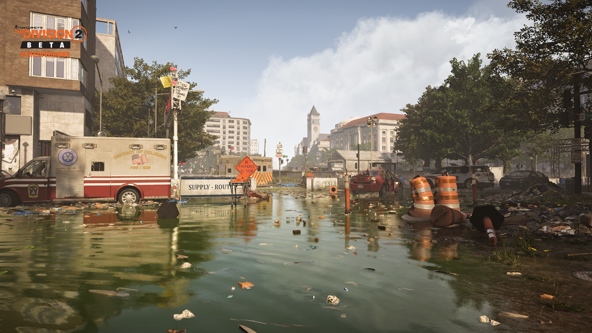Tom Clancys The Division 2 скриншот с GeForce RTX 2080 - Tom Clancy's The Division 2