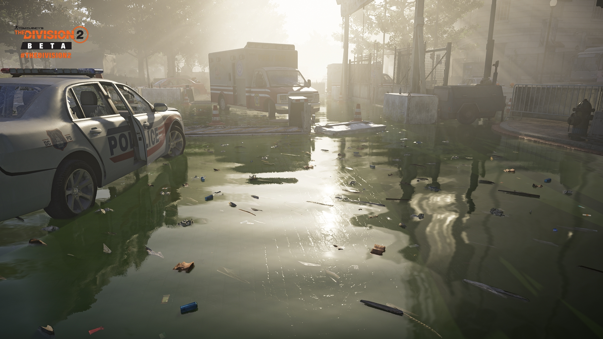 Tom Clancys The Division 2 скриншот с GeForce RTX 2080 - Tom Clancy's The Division 2
