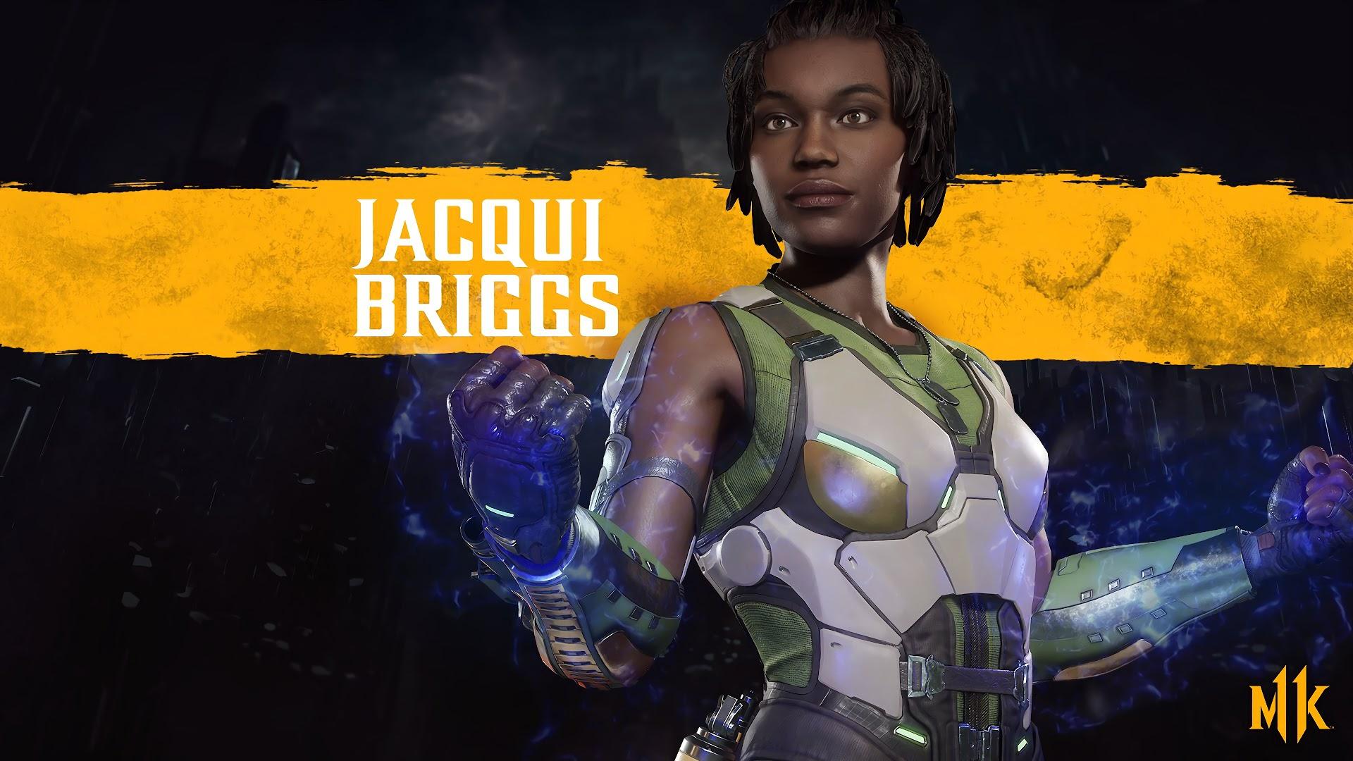 Джэки Бриггс - Mortal Kombat 11