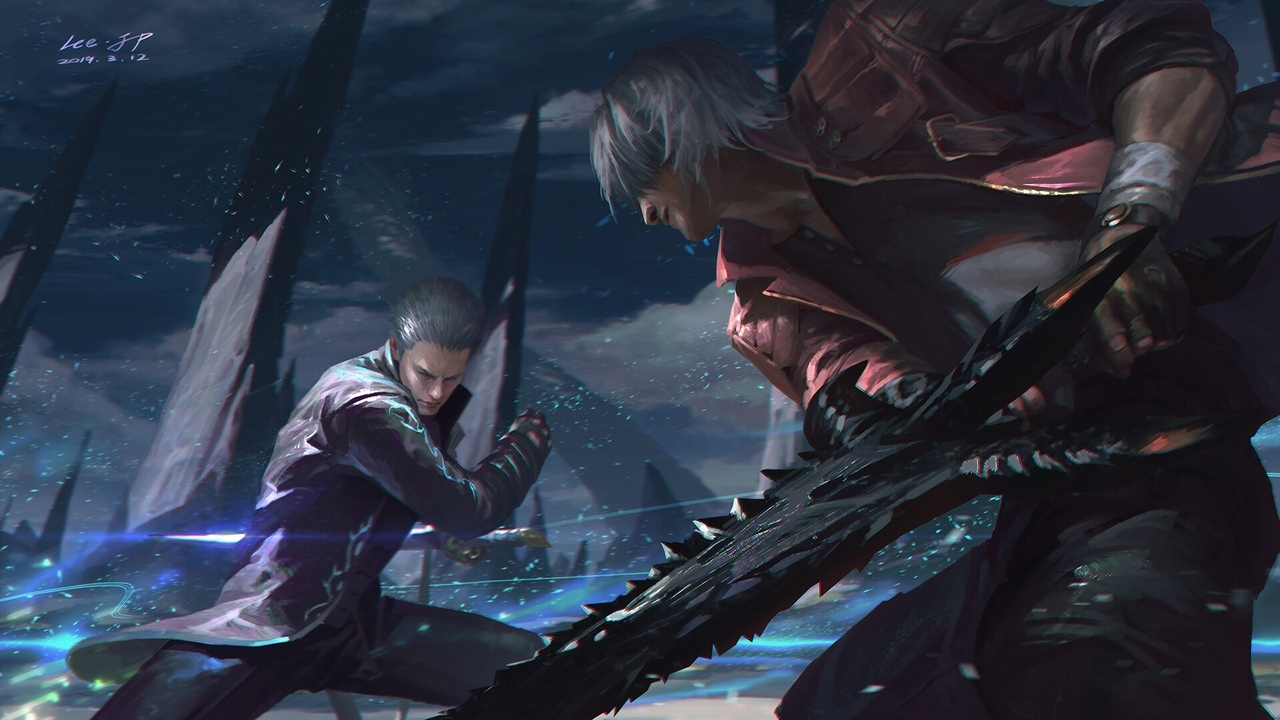 by Lee J.P - Devil May Cry 5 Арт