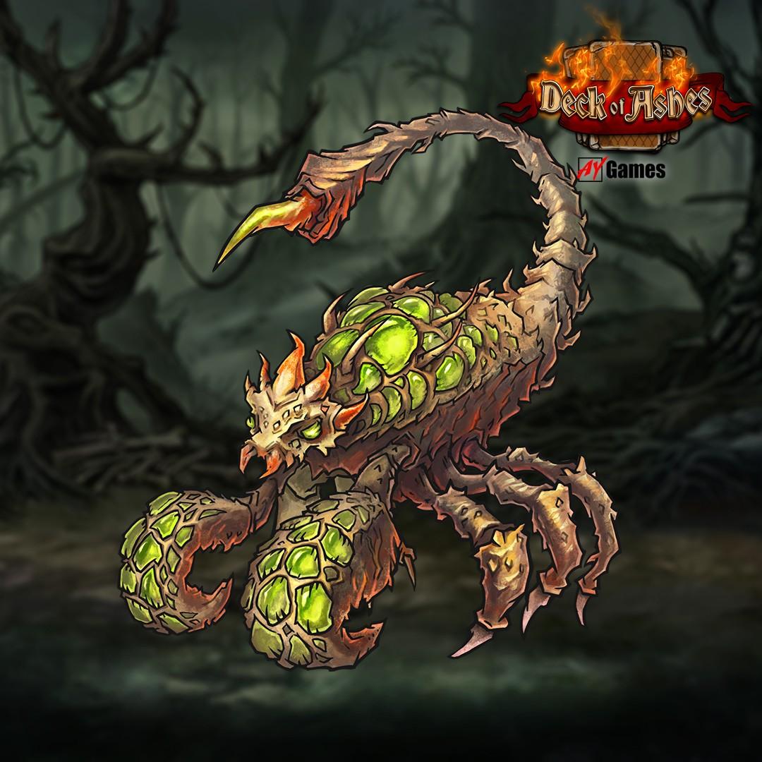 acid-beast.jpg - Deck of Ashes Арт