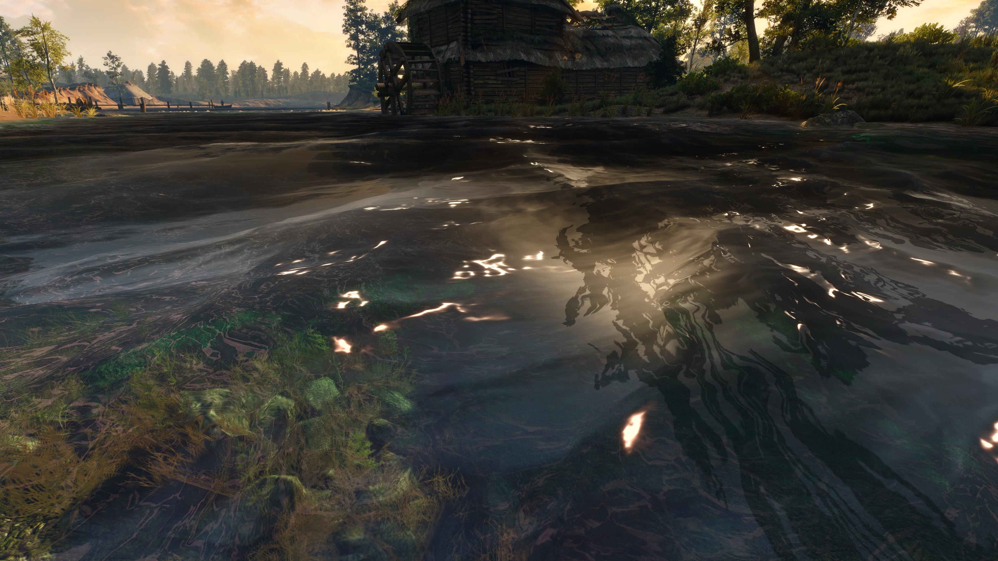 Ведьмак 3: Дикая охота скриншот с GeForce RTX 2080 - Witcher 3: Wild Hunt, the