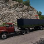 Euro Truck Simulator 2 ЗиЛ-133ВЯ + ОдАЗ-760