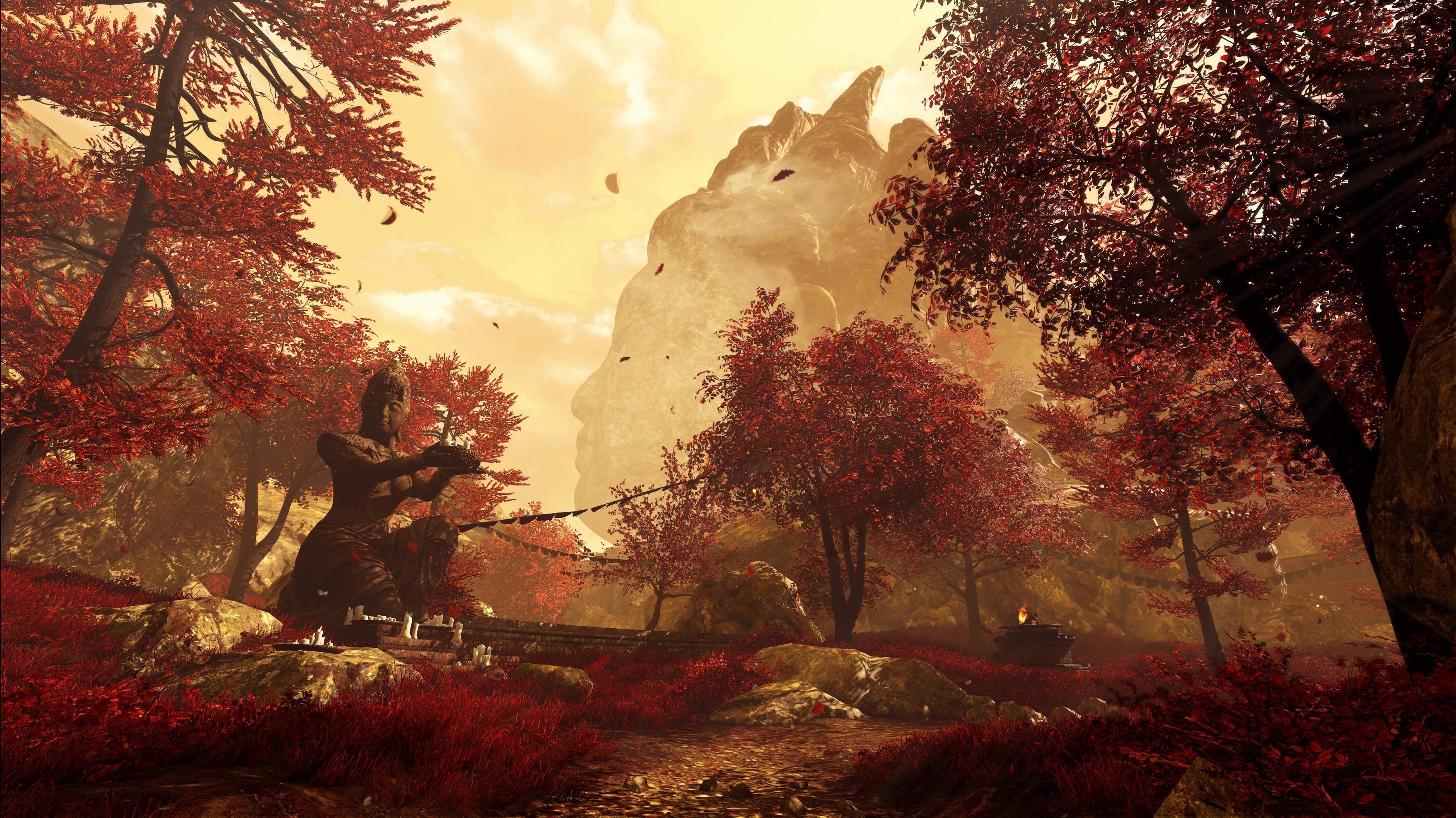 Far Cry 4 скриншот с GeForce RTX 2080 - Far Cry 4