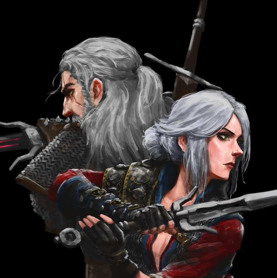 by Fadly Romdhani - Witcher 3: Wild Hunt, the Арт