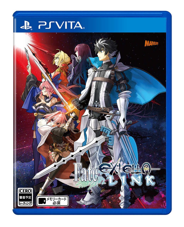 Бокс-арт (PS Vita) - Fate/Extella Link