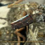 Fallout 4 Карательная металлическая броня для превой ноги