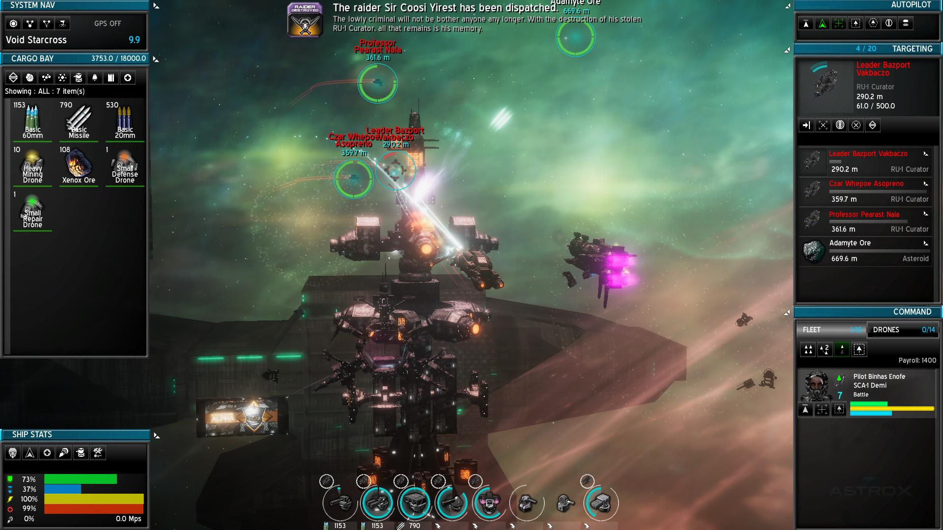 Геймплей - Astrox Imperium