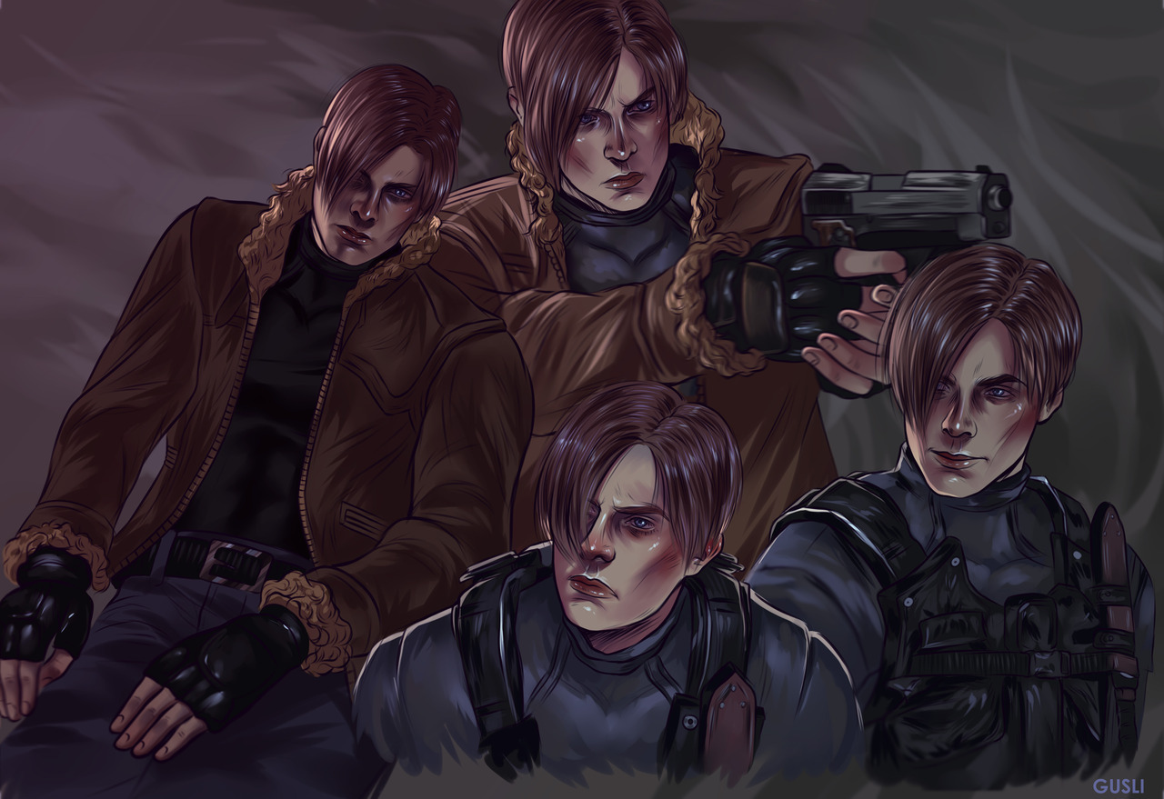 lNWAOX_p7E8.jpg - Resident Evil 4 Леон С. Кеннеди