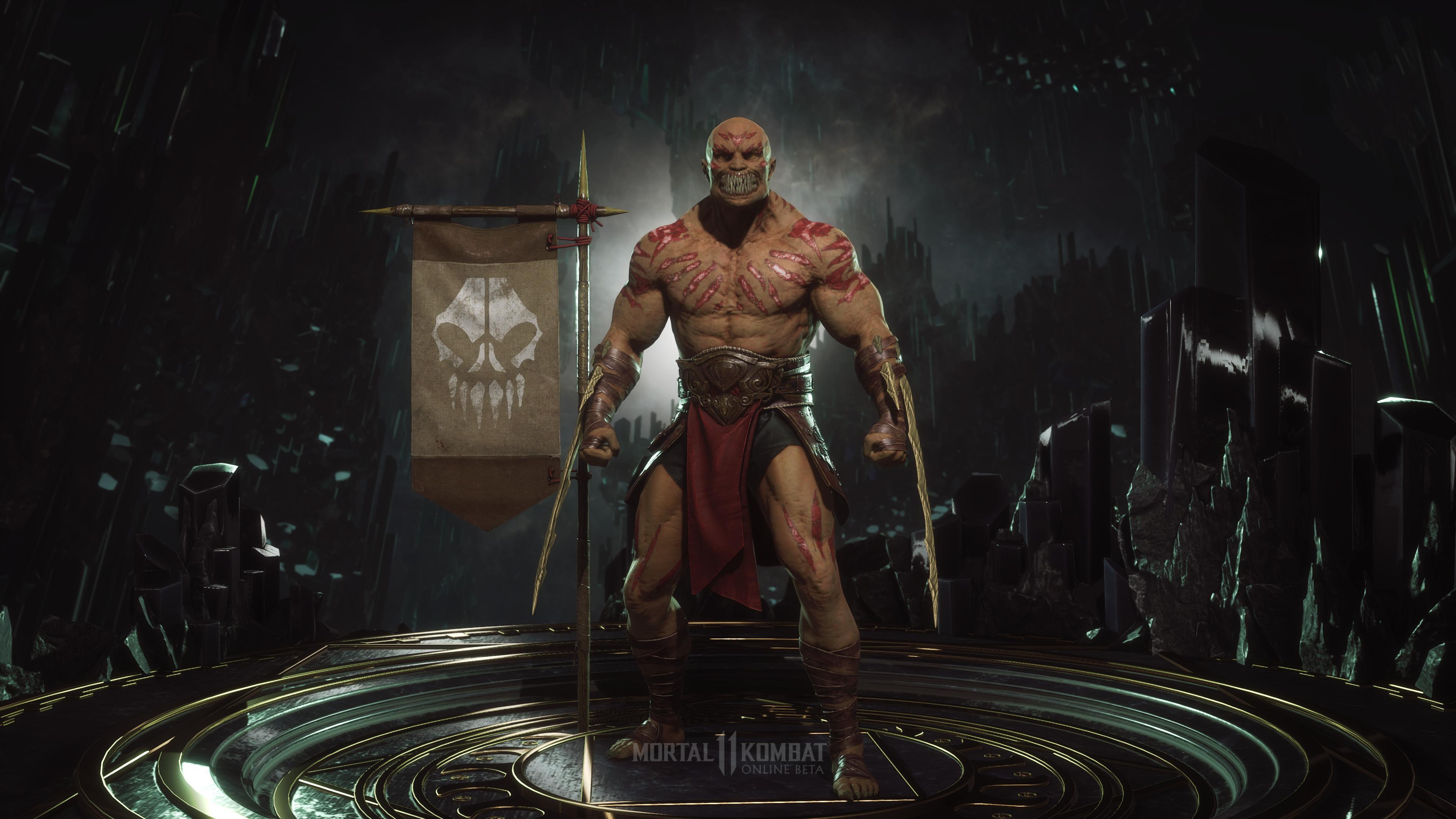 Барака - Mortal Kombat 11 4K