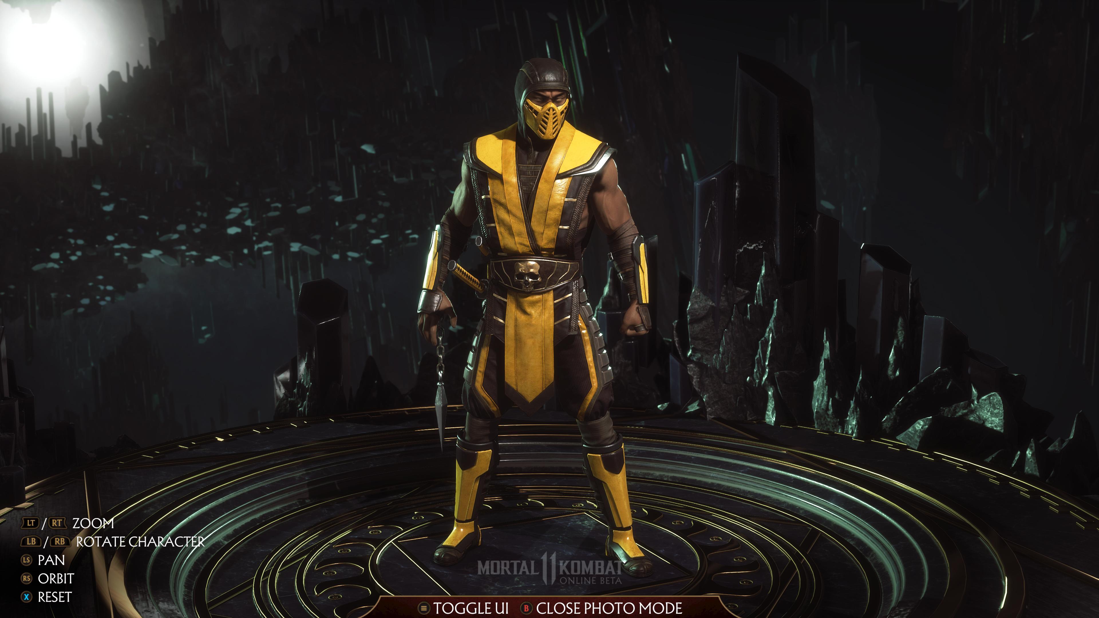 Скорпион - Mortal Kombat 11 4K