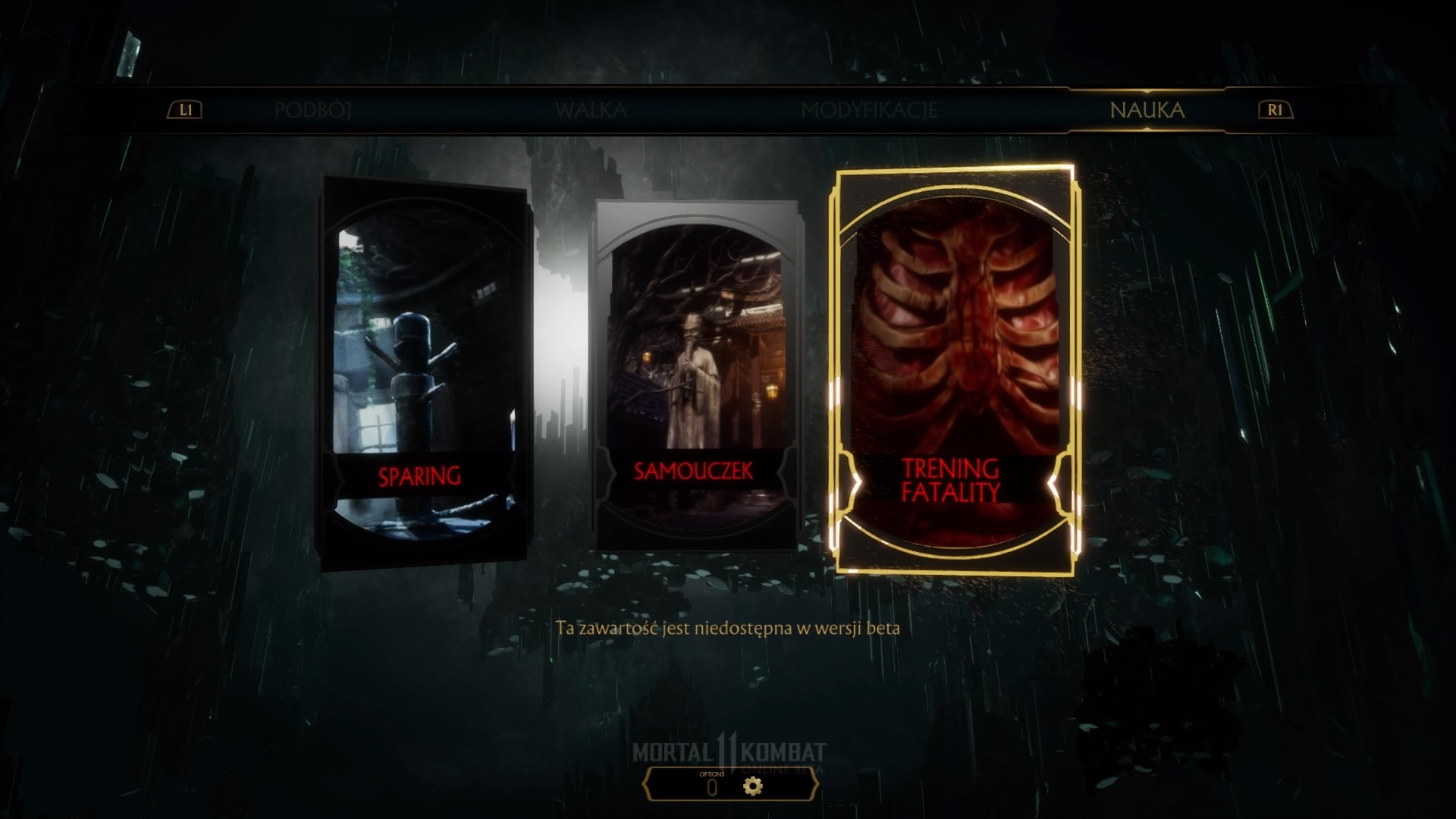 Бета-версия - Mortal Kombat 11