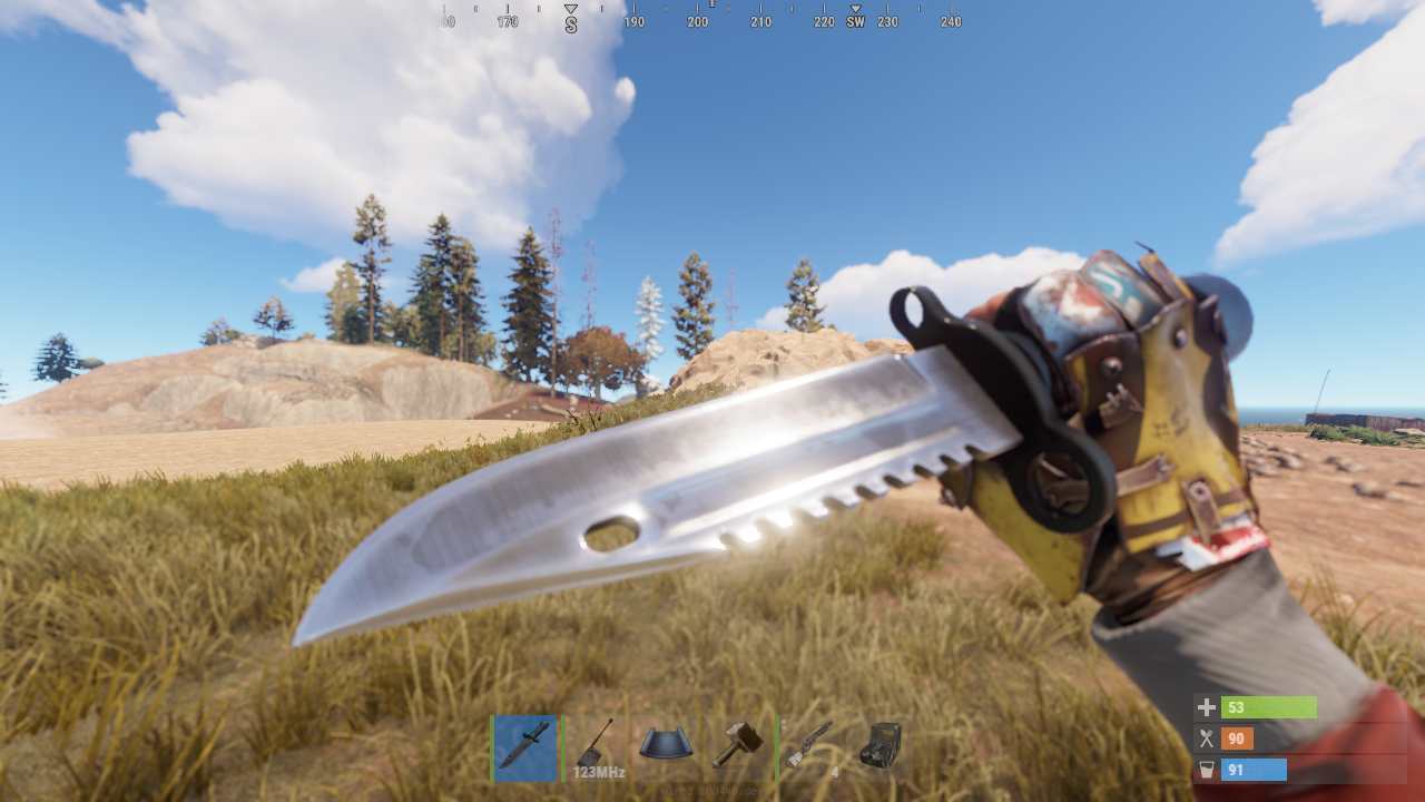 Боевой нож - Rust