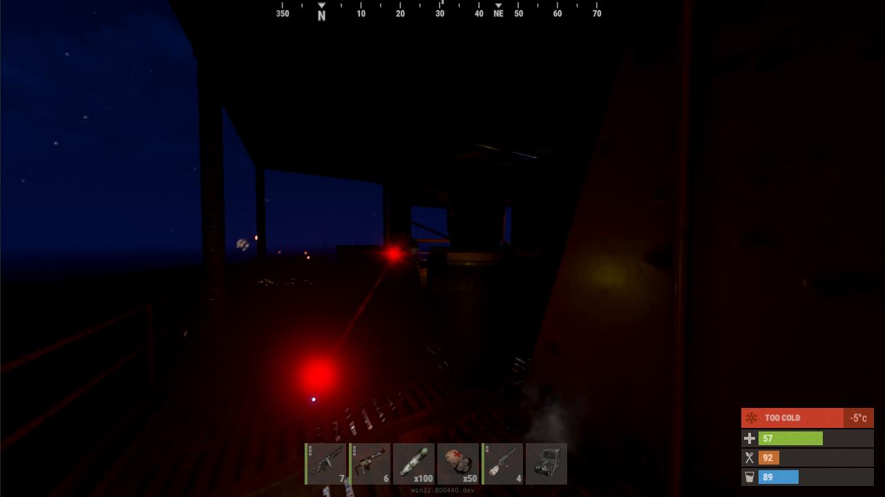 Освещение - Rust