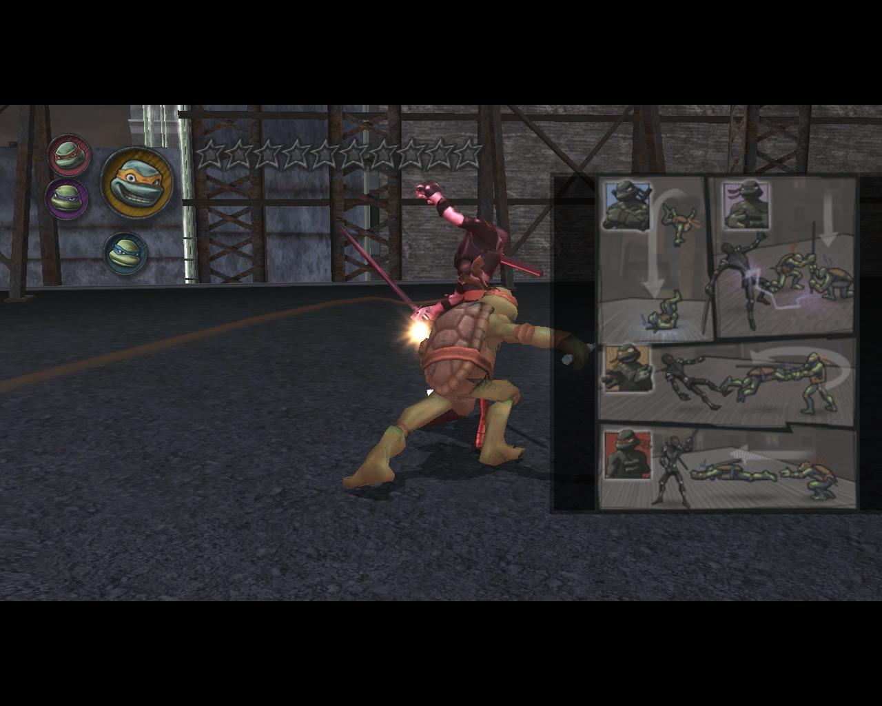 leo - Teenage Mutant Ninja Turtles: Video Game