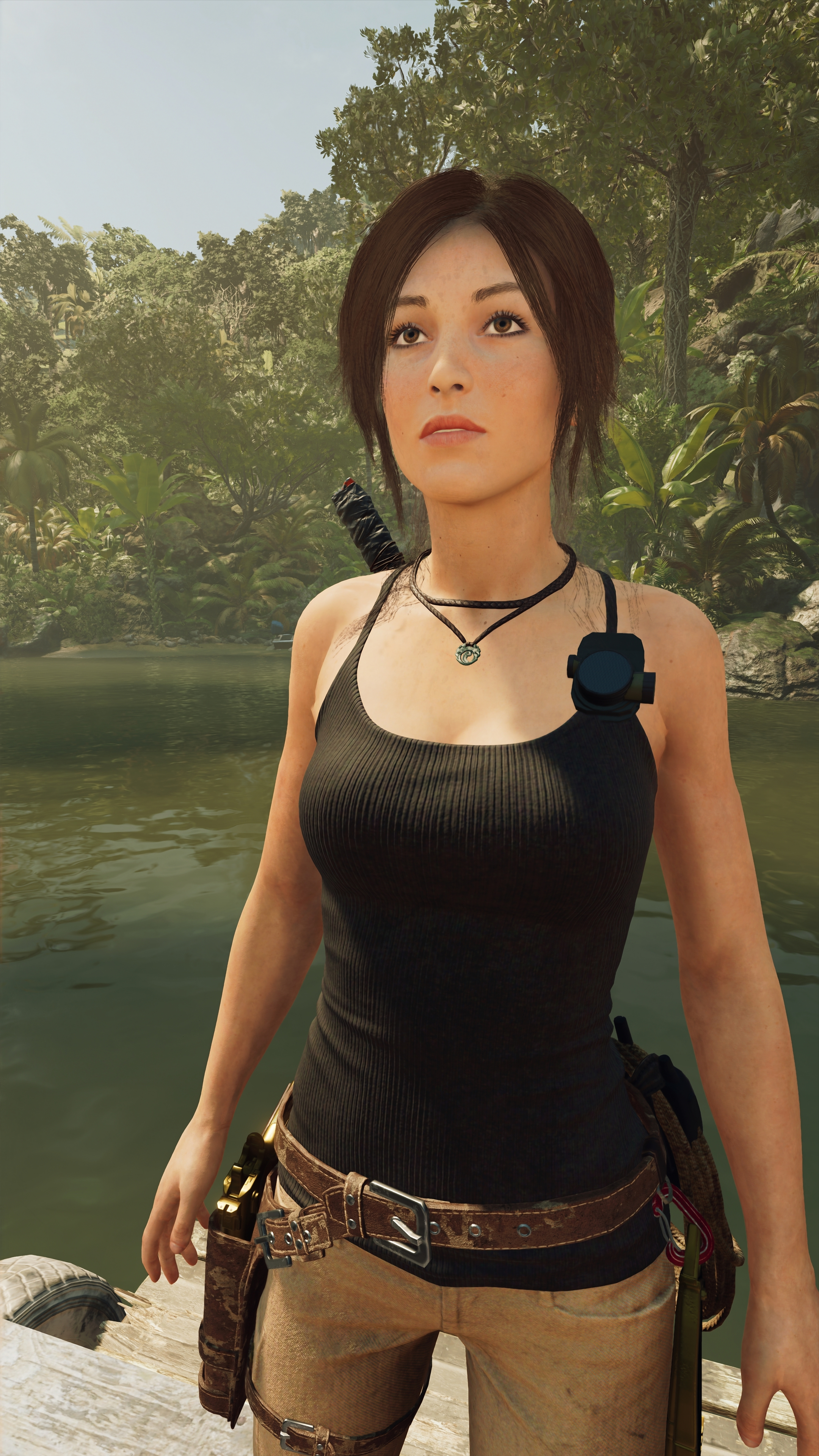 Shadow of the Tomb Raider скриншот с GeForce RTX 2080 - Shadow of the Tomb Raider Лара Крофт