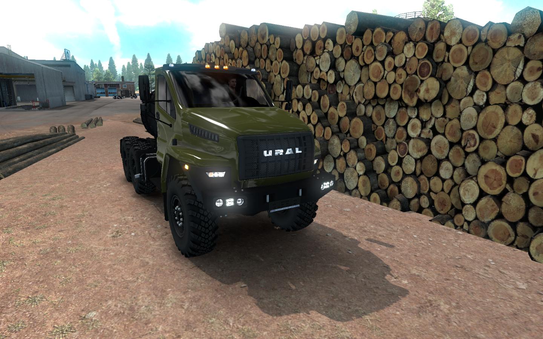 Урал - American Truck Simulator урал