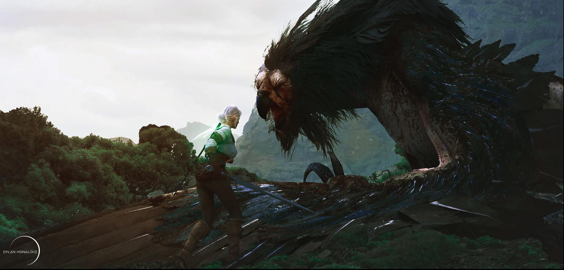 ciri-redesign - The Witcher 3: Wild Hunt