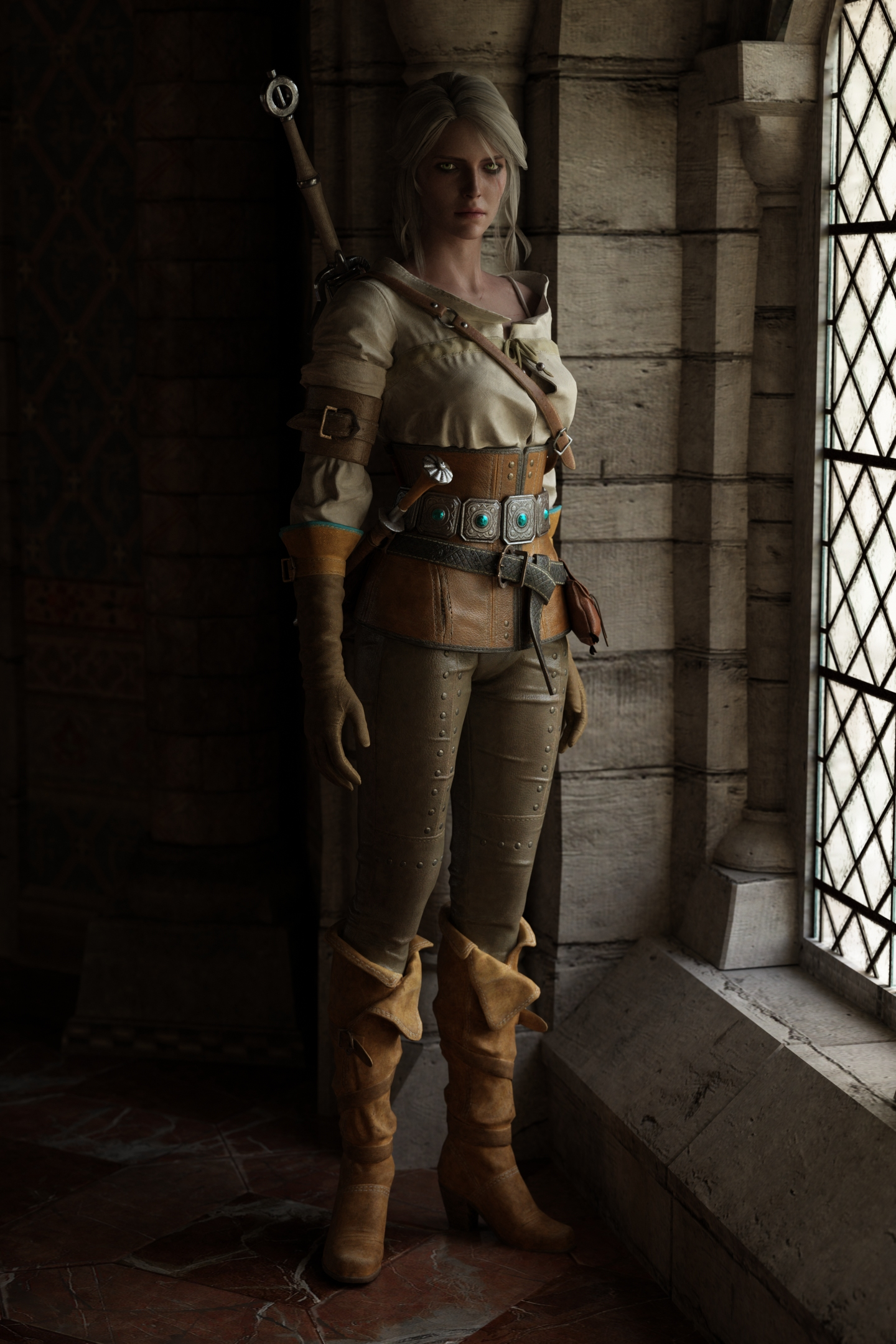 The-Witcher-3-The-Witcher-фэндомы-Ciri-5120267.jpeg - Witcher 3: Wild Hunt, the