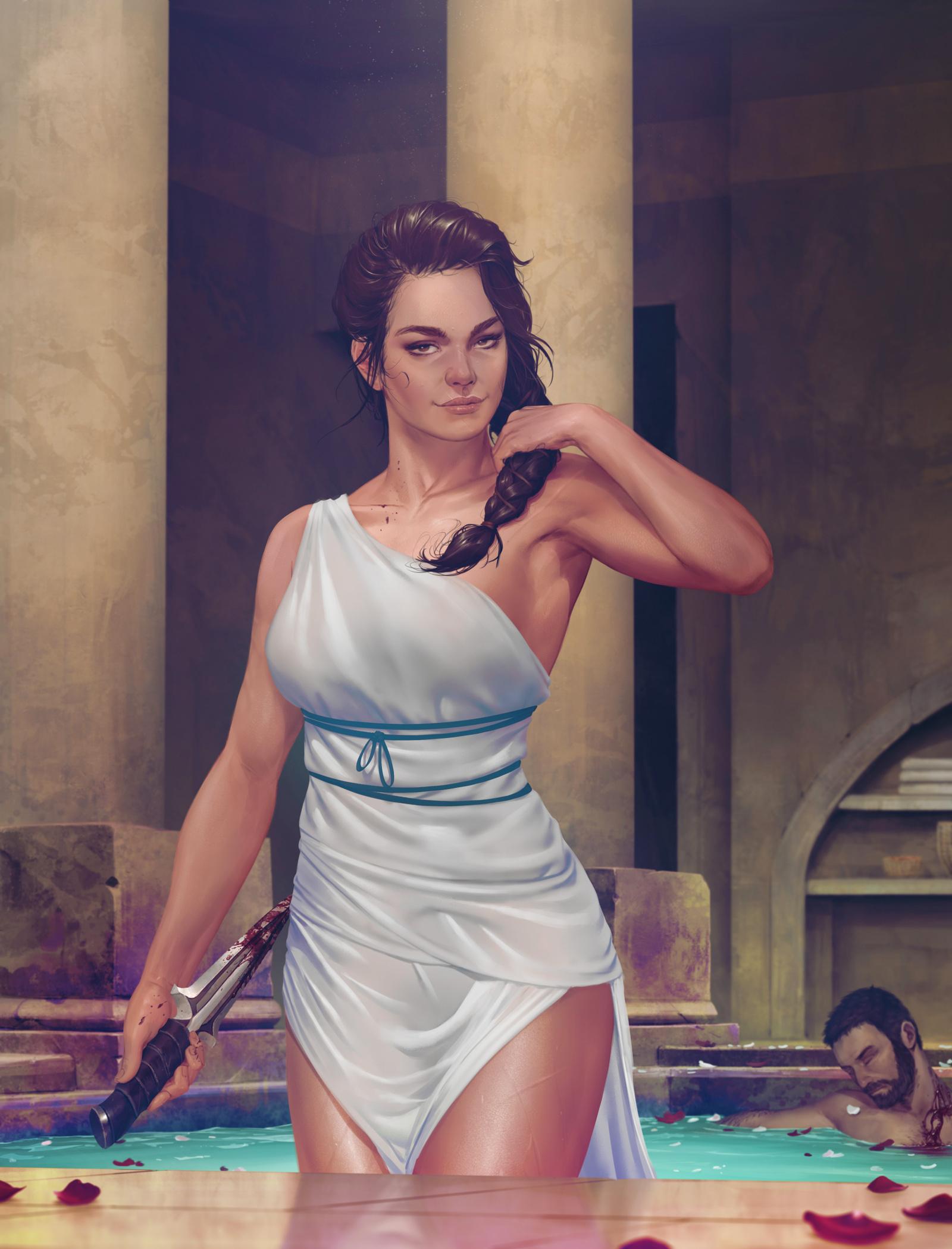 by Krys Decker - Assassin's Creed: Odyssey Арт