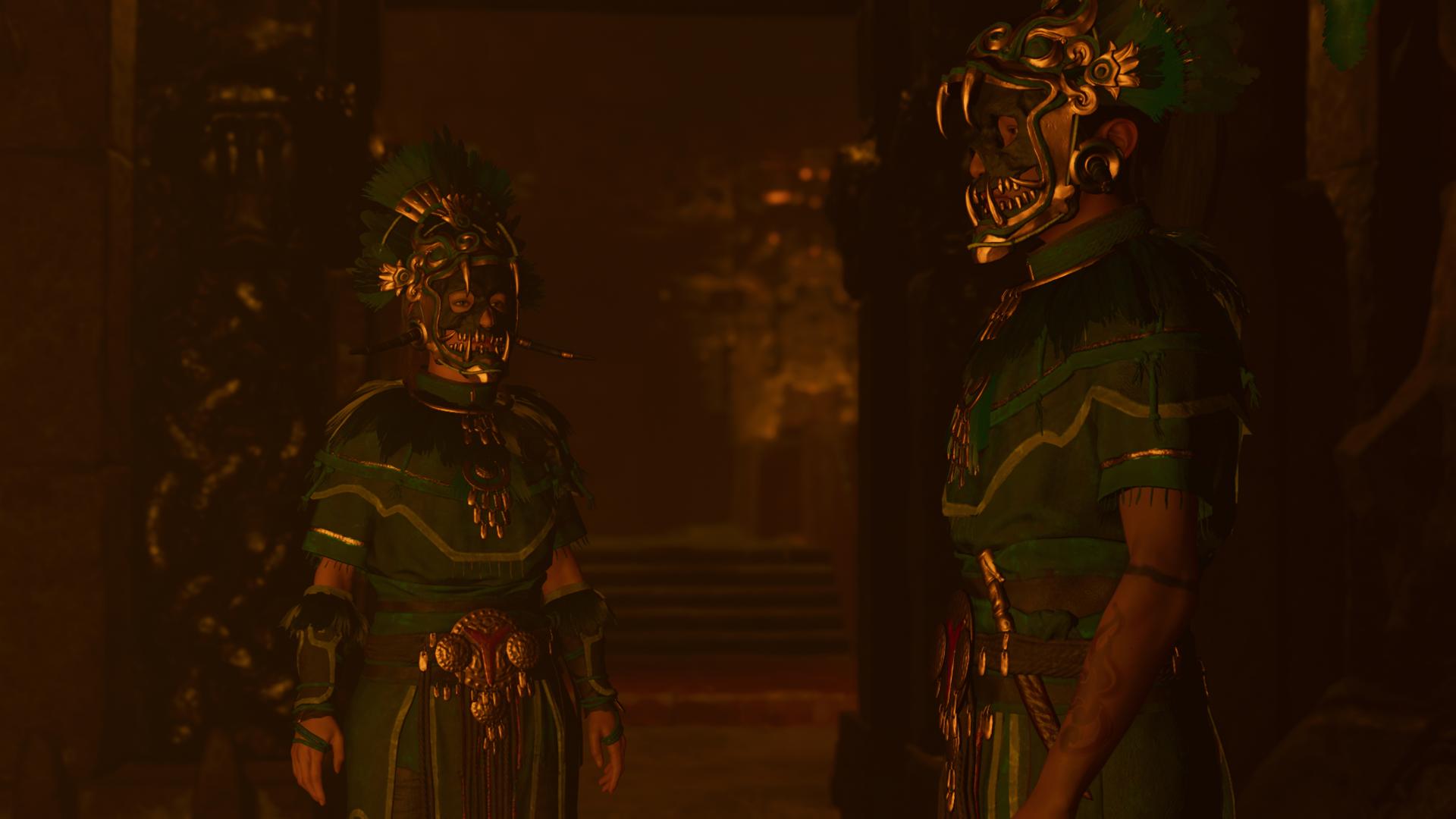 Лара и Иона в Пайтити - Shadow of the Tomb Raider
