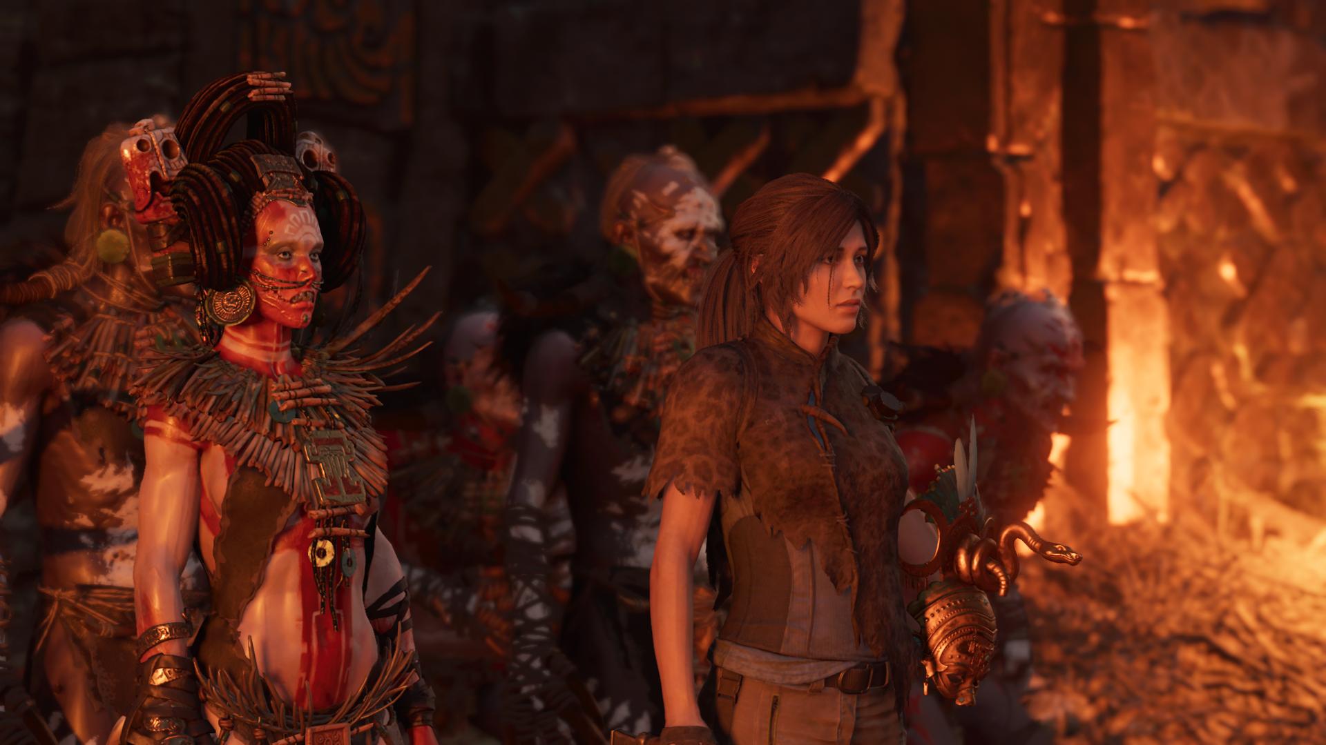 Лара и Иона в Пайтити. - Shadow of the Tomb Raider