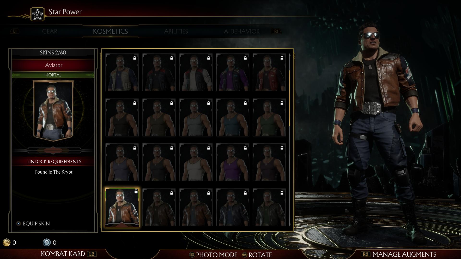 Джонни Кейдж - Mortal Kombat 11