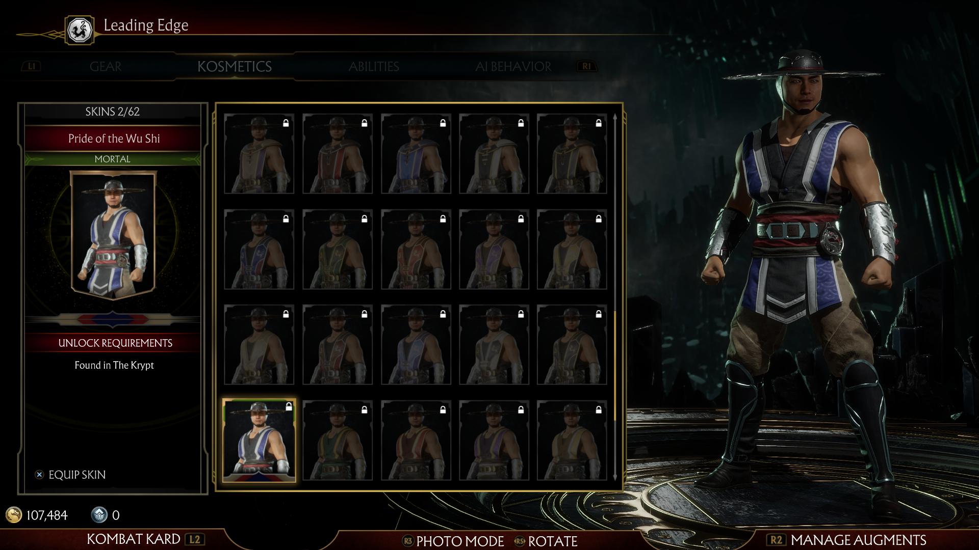 Кунг Лао - Mortal Kombat 11