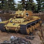 Tank Mechanic Simulator Beutepanzer KV-1