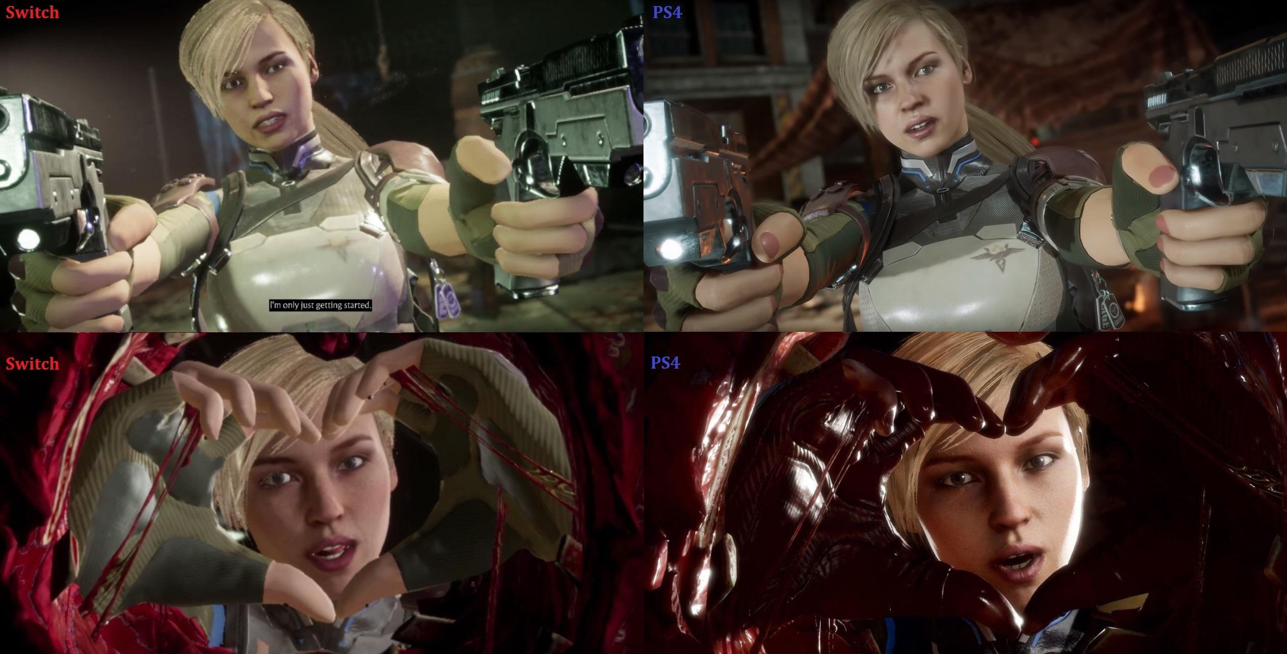 Switch vs PS4 - Mortal Kombat 11