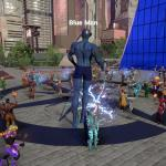 Ship of Heroes Blue Man