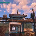 Fallout 4 Бабушка на крыше