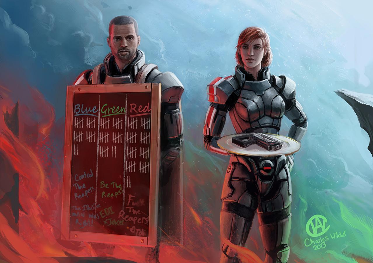 Выбираем концовку?) - Mass Effect 3