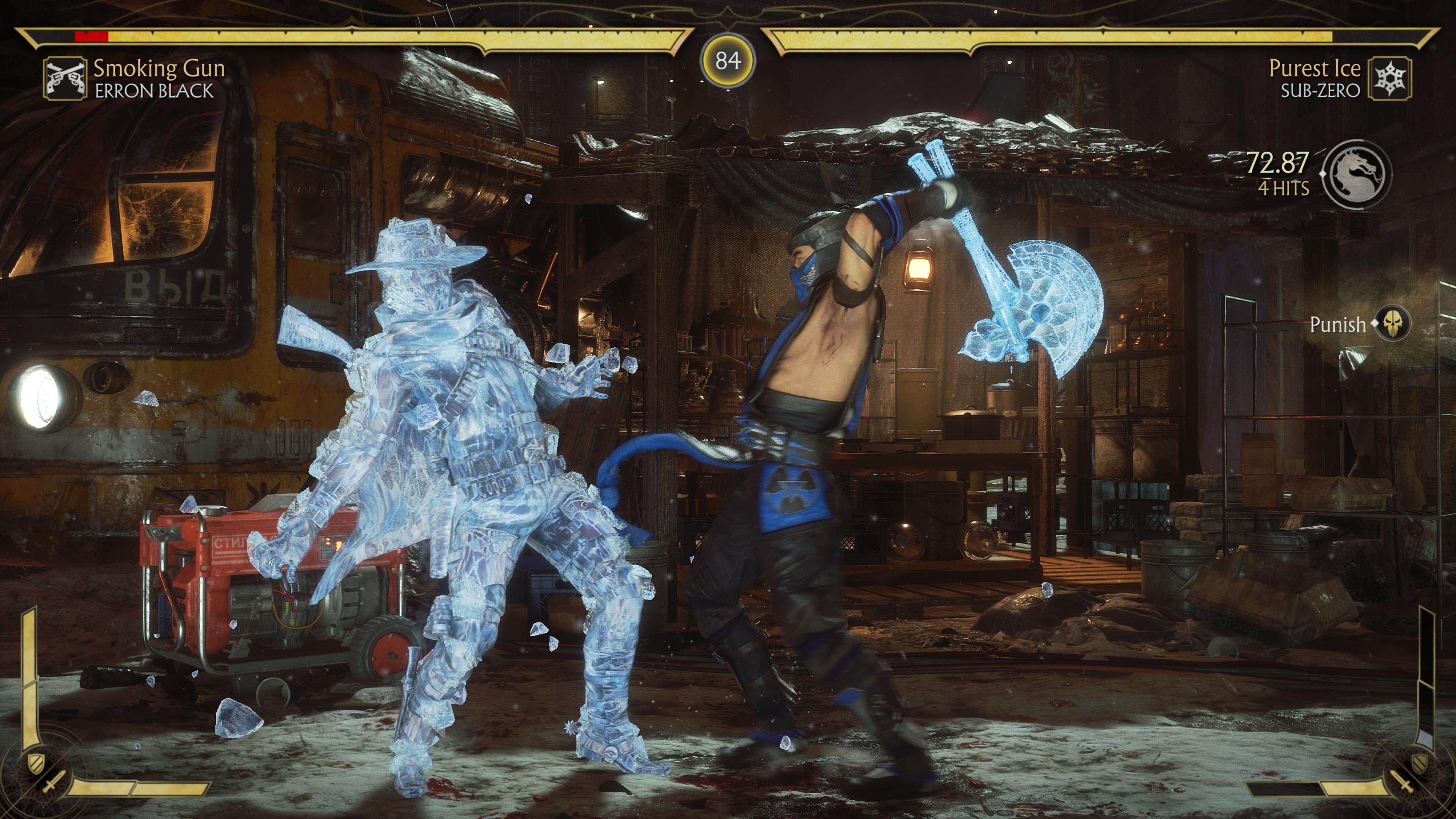 Геймплей - Mortal Kombat 11