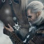 Witcher 3: Wild Hunt Геральт и Плотва