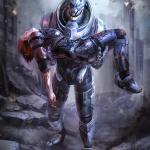 Mass Effect 3 Гаррус и Джейн