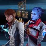 Mass Effect: Andromeda Доктор Лекси залечивает раны Сары Райдер