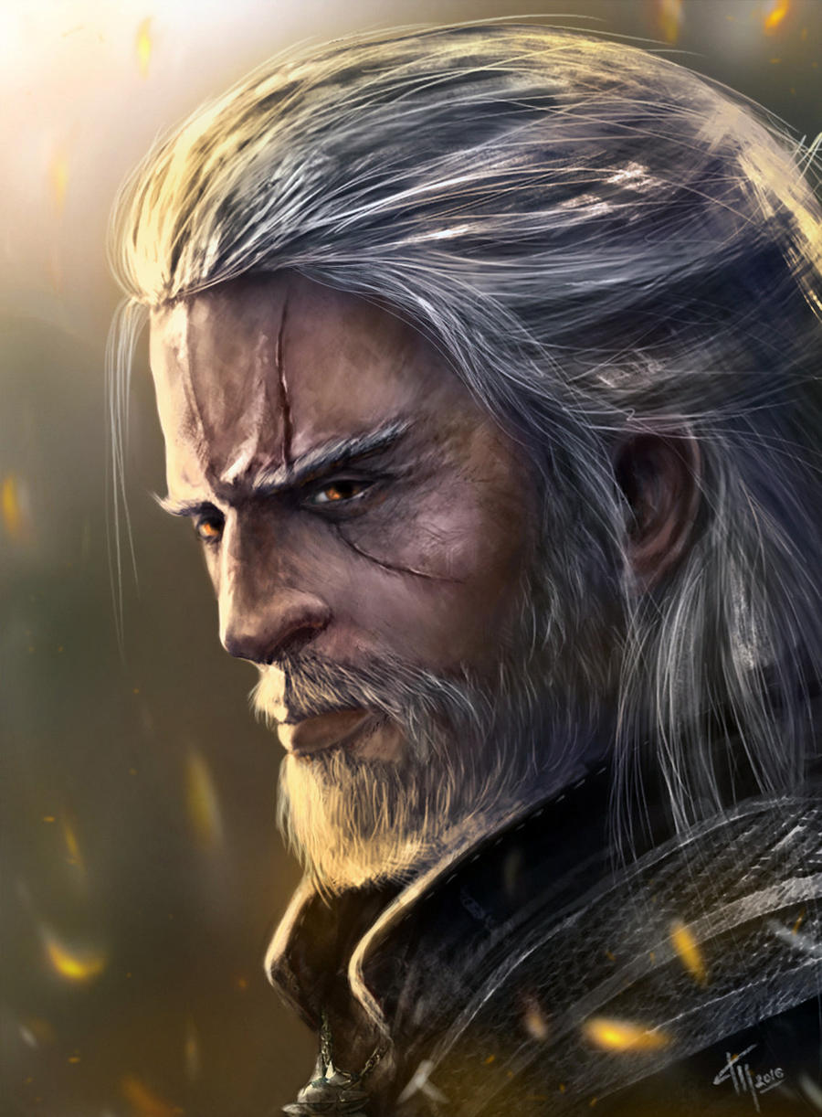Geralt - Witcher 3: Wild Hunt, the