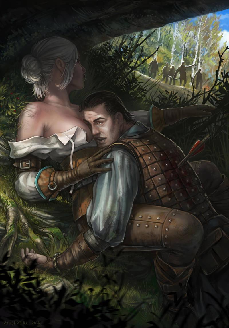 """Цири и ее """"ухажор"""" ) - Witcher 3: Wild Hunt, the"""