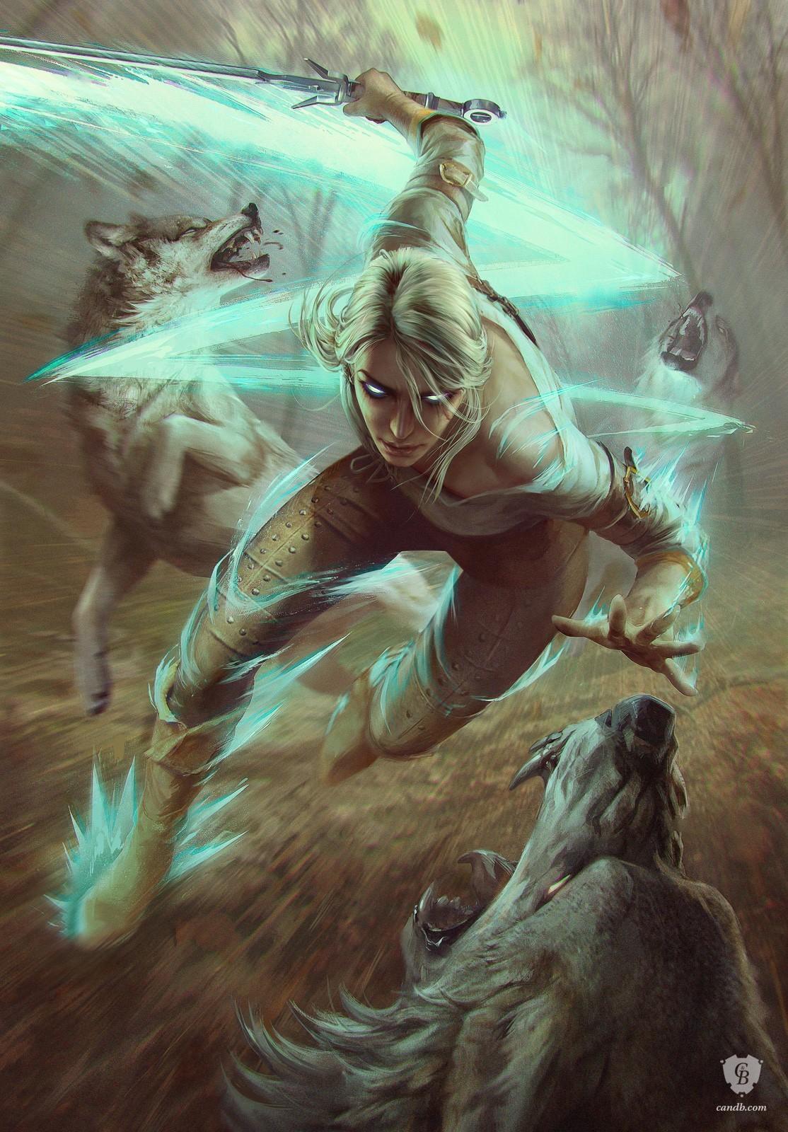 Ciri - Witcher 3: Wild Hunt, the